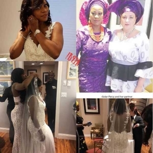 Nigerian Mother Marries Her Lesbian Partner in the U.S (Photos)